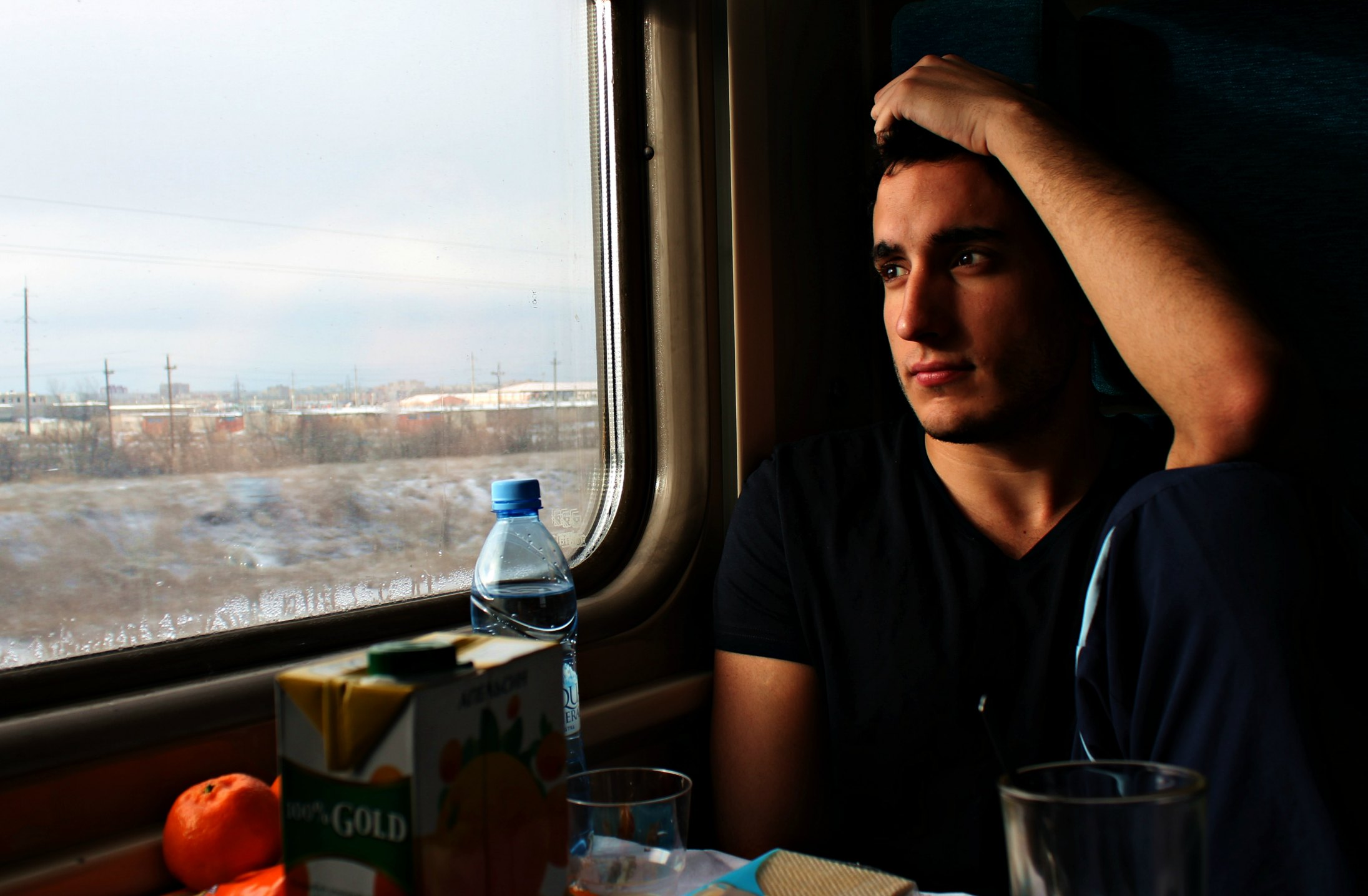 Tren Moscú - Volvogrado