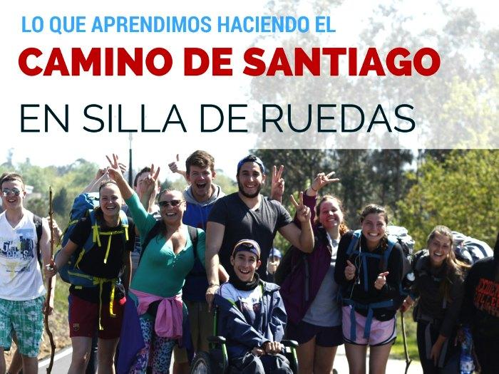 Camino de Santiago en sillas de ruedas
