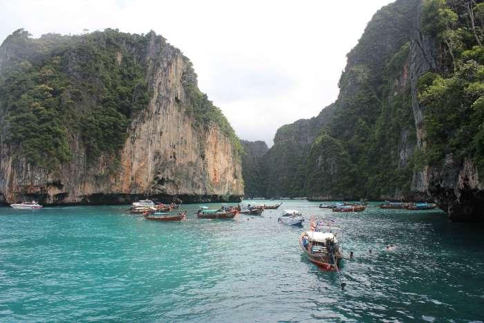 Kayaks en Ko Phi Phi