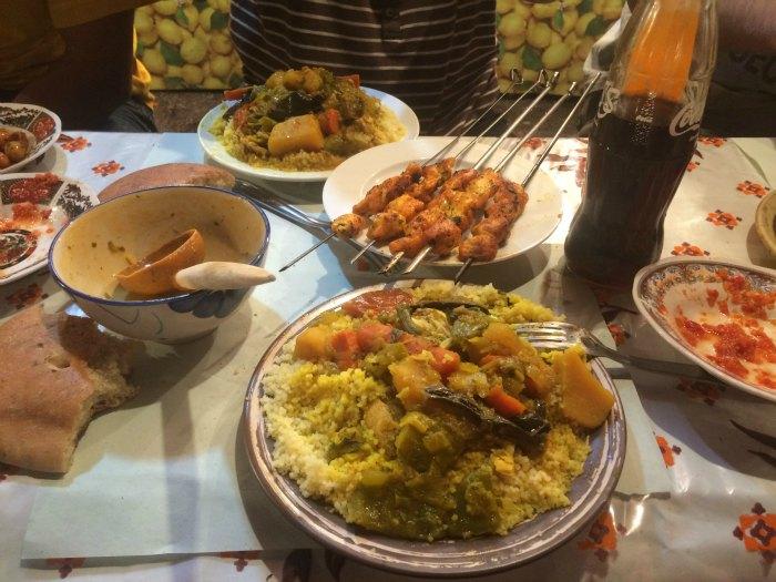 Cena en Marrakech