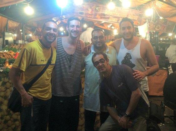 Puestos callejeros Marrakech