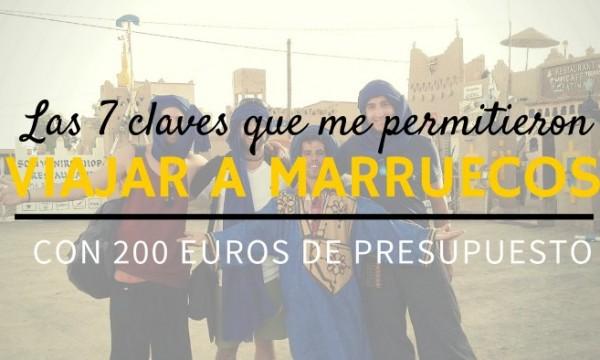 Viajar a Marruecos barato