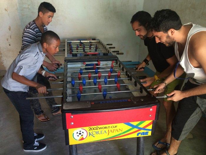 Futbolín Marruecos