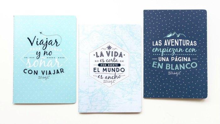Diarios para viajeros