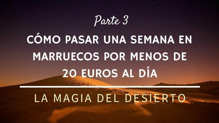 La magia del desierto