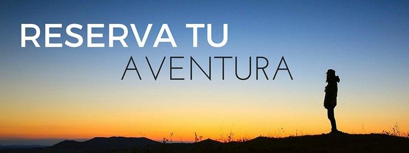Reserva tu aventura - Horizontal