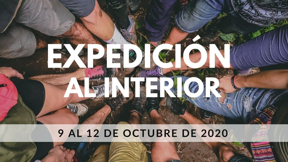 EXPEDICIÓN AL INTERIOR